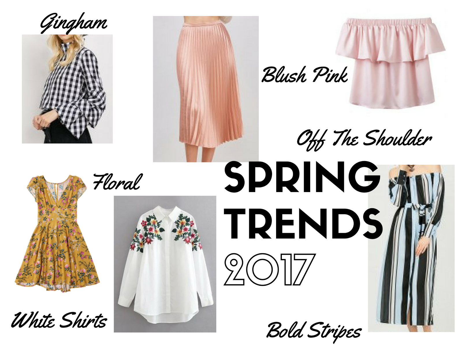 The Biggest Spring Trends of 2017