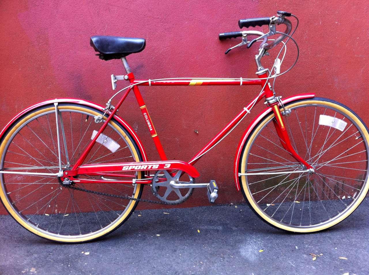 Bike Boom Refurbished Bikes: Early 80's Columbia Sports 3
