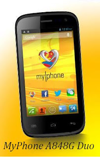 MyPhone A848G Duo Sun Plan 350