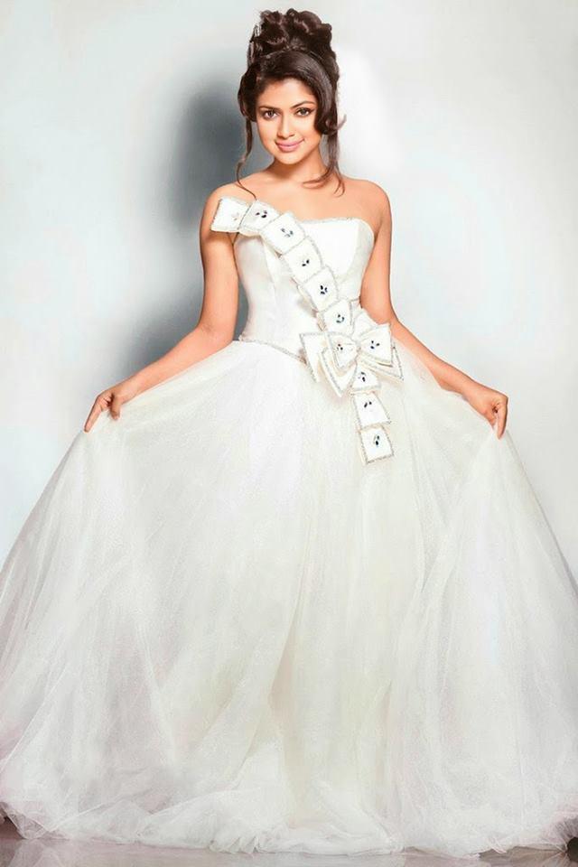 Actress Amala Paul latest Photoshoot in White Dress