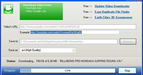 Easy Video Downloader ~ free download