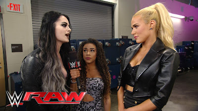 Jojo interviews Paige and Lana