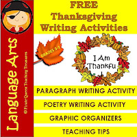 Here's a FREE Thanksgiving writing activity!