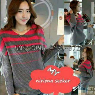 sweater perempuan korea