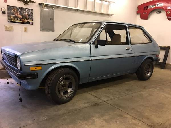 Daily Turismo Old School Party 1980 Ford Fiesta