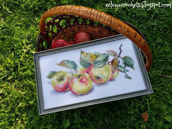 вышивка Яблоки 5-09 Алиса