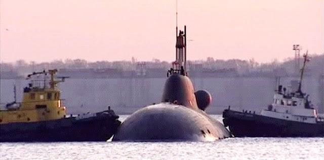 Resultado de imagen de arrendamiento de un segundo submarino nuclear ruso