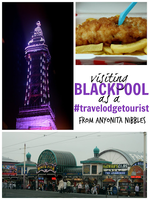 A diary of two days spent visiting Blackpool as a #TravelodgeTourist from Anyonita-nibbles.co.uk