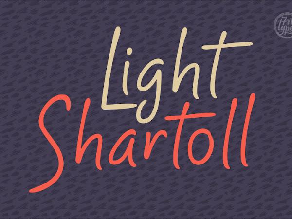 Shartoll Light Script & Handwritten Font Free Download