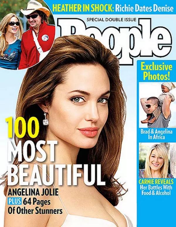 Angelina Jolie Most beautiful woman in the world