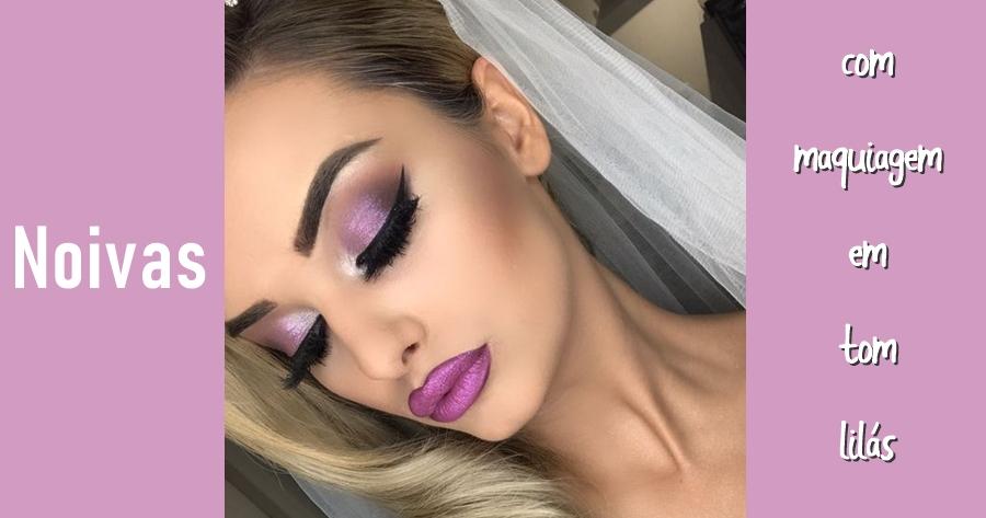 maquiagem roxo