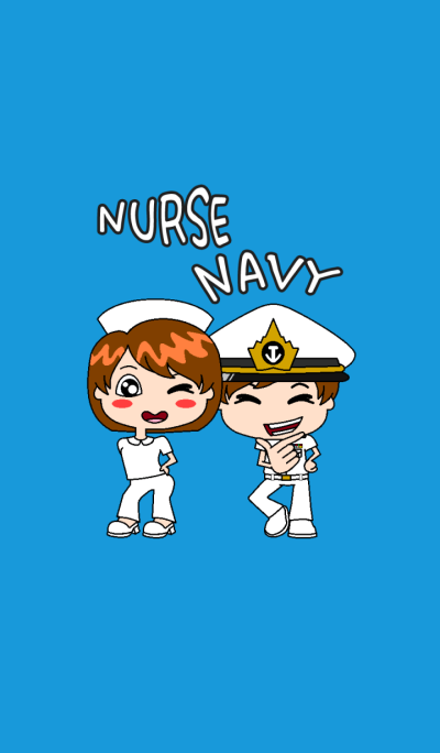 Nurse and Navy forever