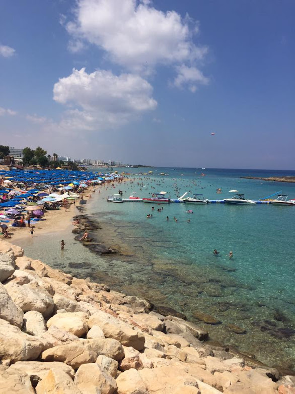 Protaras beach in Cyprus