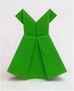 Origami Baju Anak 10