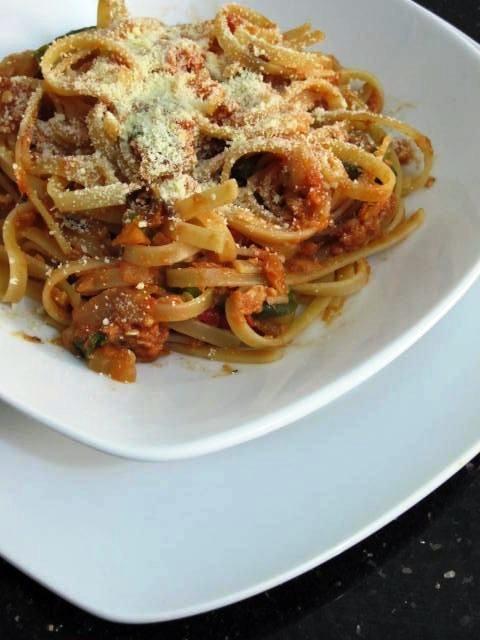 Resep Linguini  dengan Saus Tuna