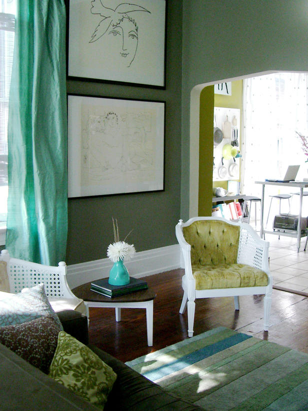 Modern Furniture: 2012 Best Living Room Color Palettes