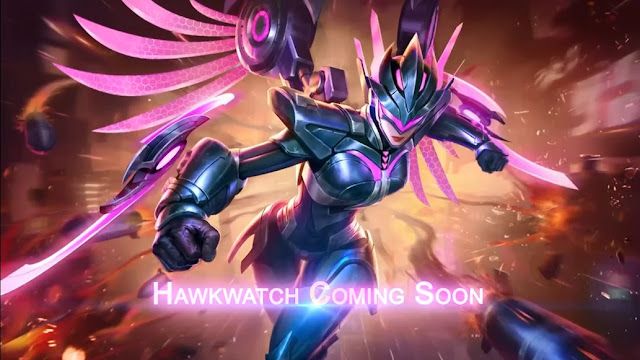 Karrie Epic Skin, Hawkwatch Mobile Legends