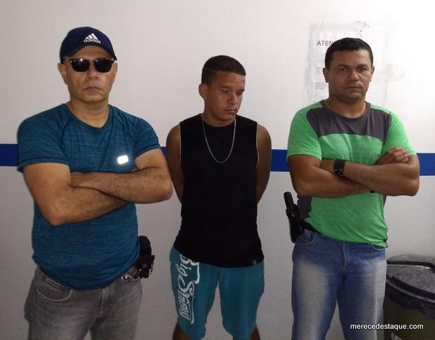 Polícia civil cumpre mandado de prisão, em Santa Cruz, contra acusado por tentativa de homicídio