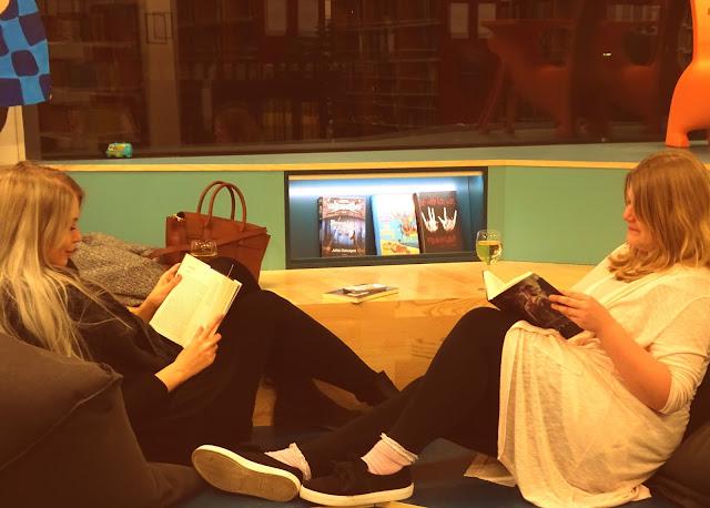 Silent Reading Party Odense Bibliotek
