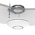 Mikrotik cAP ac wireless access point for mounting on a ceiling or wall with two Gigabit Ethernet ports (one with PoE output) and 802.11ac support