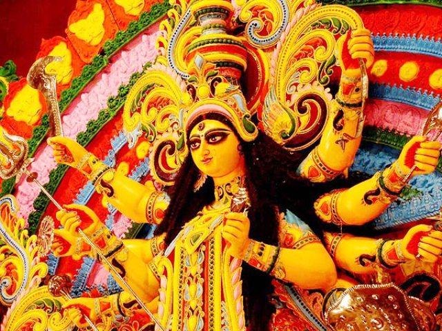 Maha navami hindi wishes sms quotes images