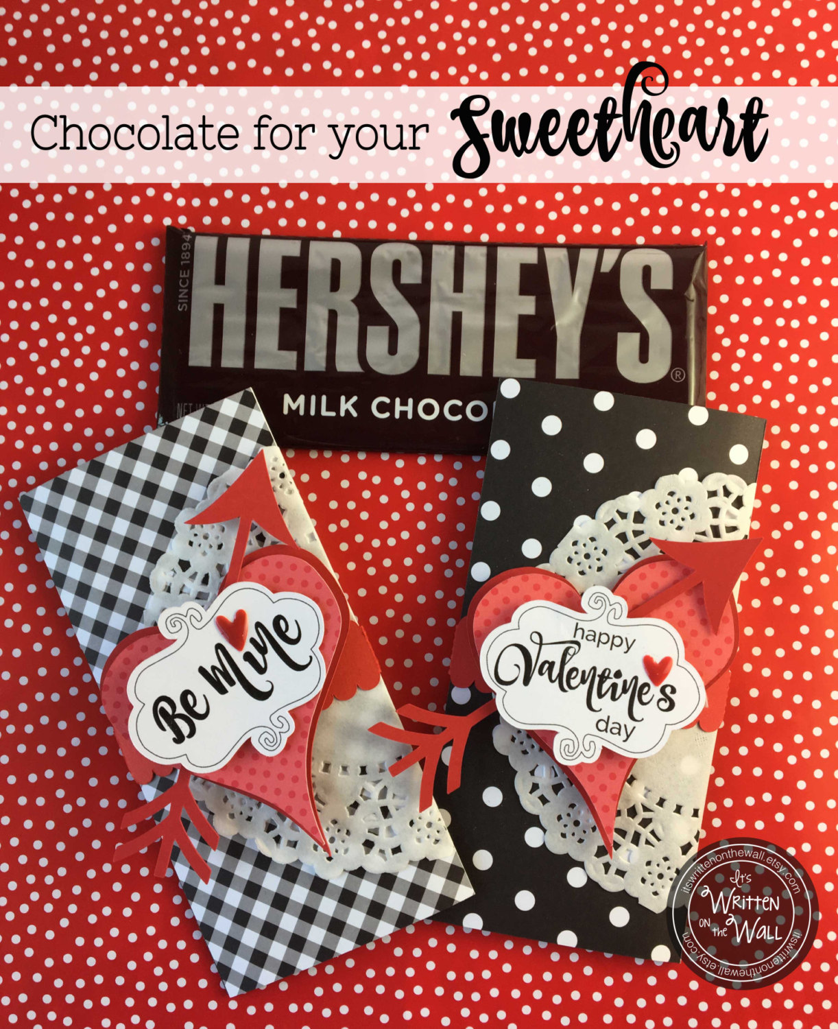 Wrap up Chocolates for your Sweetheart for Valentines Day