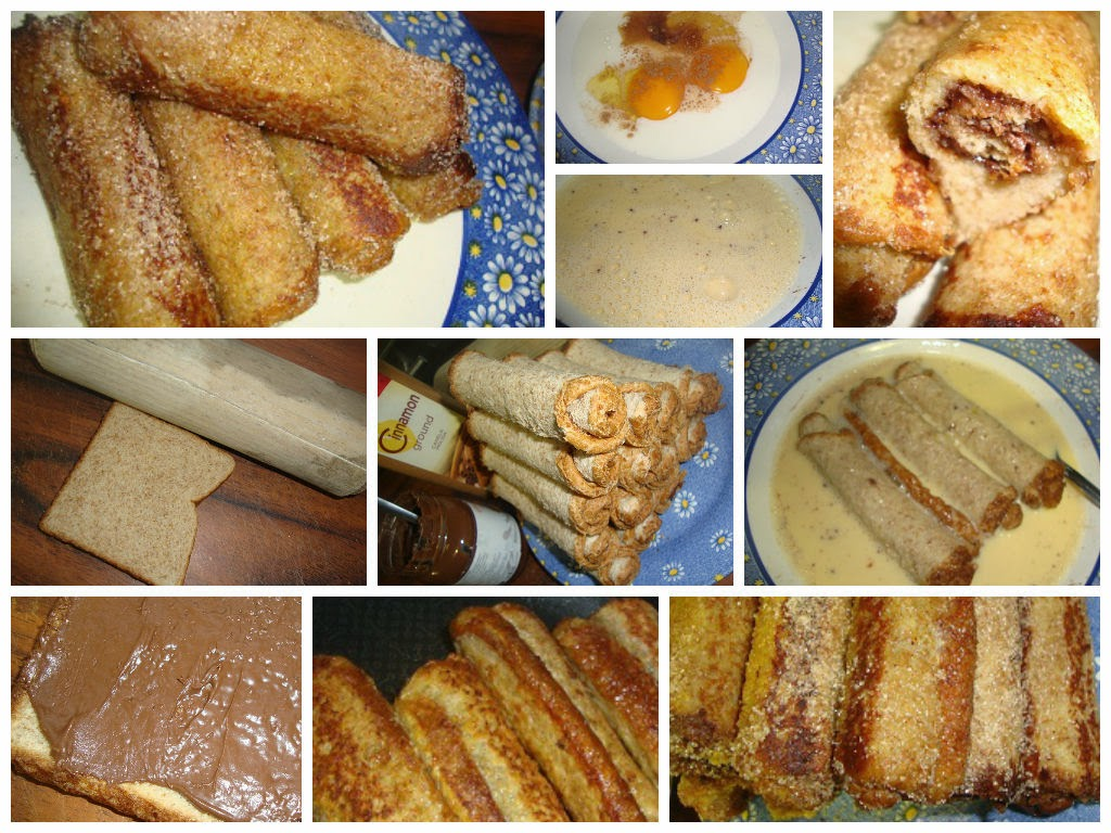rollitos de pan frances