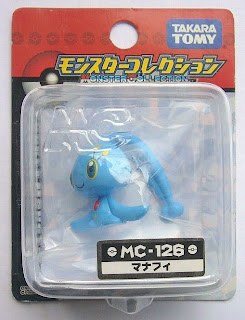Manaphy Pokemon figure Takara Tomy Monster Collection MC series