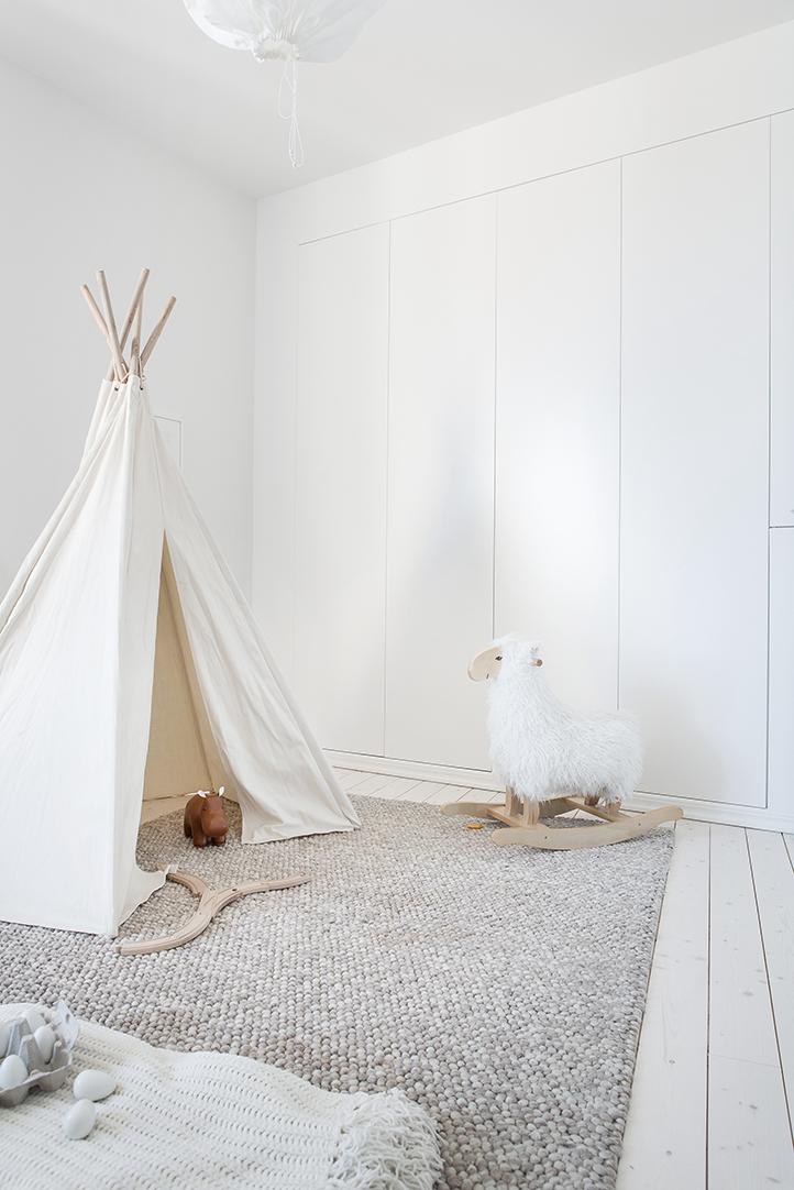 jak urządzić pokój dla dziecka DIY TIPI