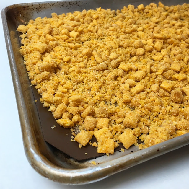 "Sheet Tray of Cap'n Crunch ""Crunch"""