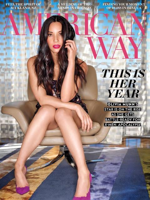 Olivia Munn – American Way Magazine