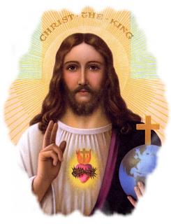 Resultado de imagen para cristo rey del universo caricatura