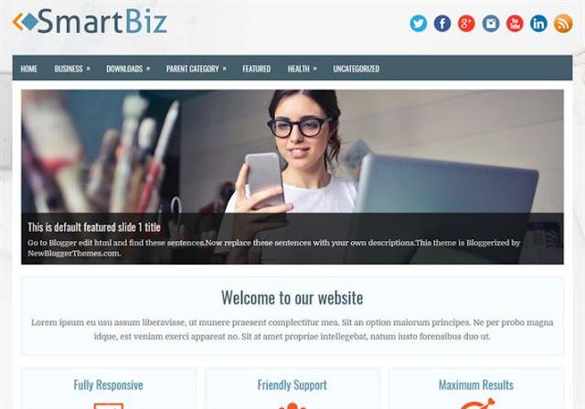 SmartBiz Blogger Theme