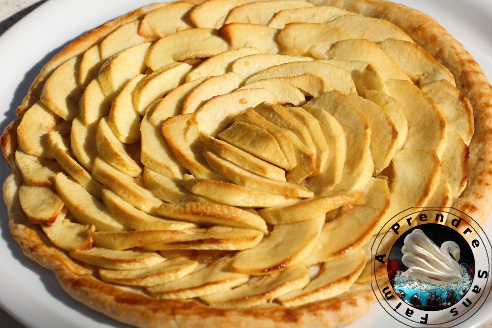 Tarte aux pommes de Conticini (pas à pas en photos)
