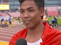 Muhammad Zohri Juara Lomba Lari Tingkat Dunia Dihadiahi, Menjadi CPNS di Kementerian Pemuda dan Olahraga.