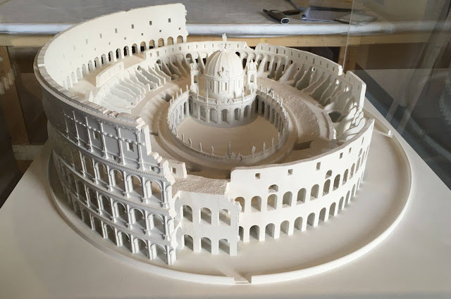 New exhibition reveals secret history of Rome's Colosseum