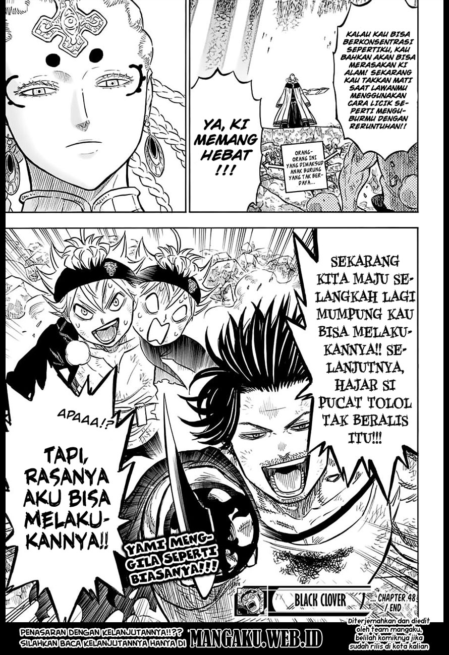 Baca Manga Black Clover Chapter 48 Bahasa Indonesia