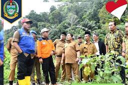 GUBERNUR EDY BAHAS RENCANA MEMBANGUN SMK PERKEBUNAN DI ULU PUNGKUT
