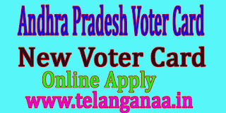 Andhra Pradesh AP New Voter Id Card Online Apply