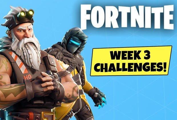 Fortnite Season 7 Game, Challenge Guide Week 3: Search Between 3 Ski lodges