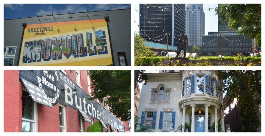 De Knoxville à Louisville