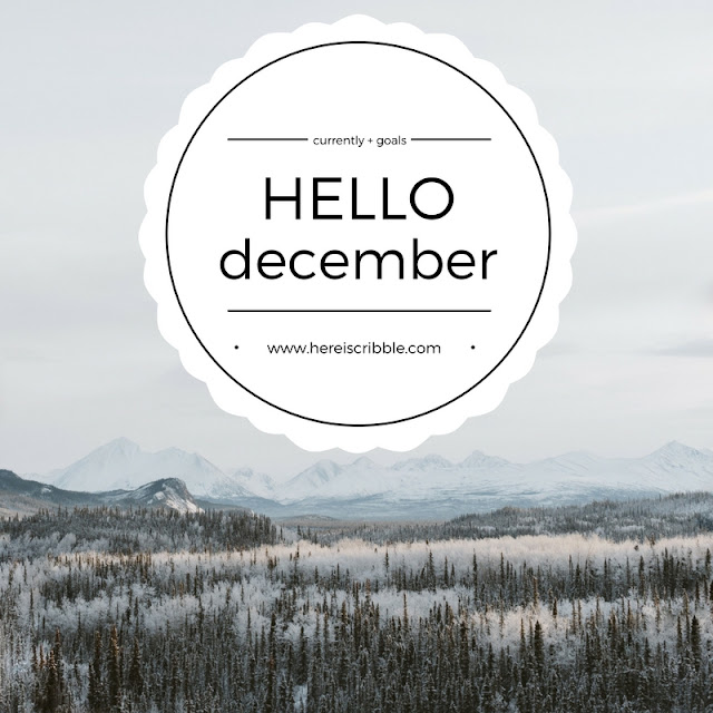 Hello December // Goals // www.hereiscribble.com