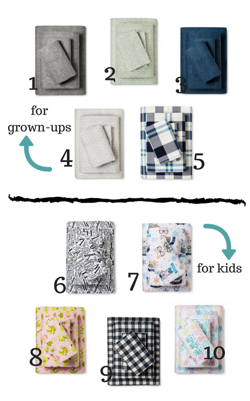 Flannel Sheet Round Up | House Homemade