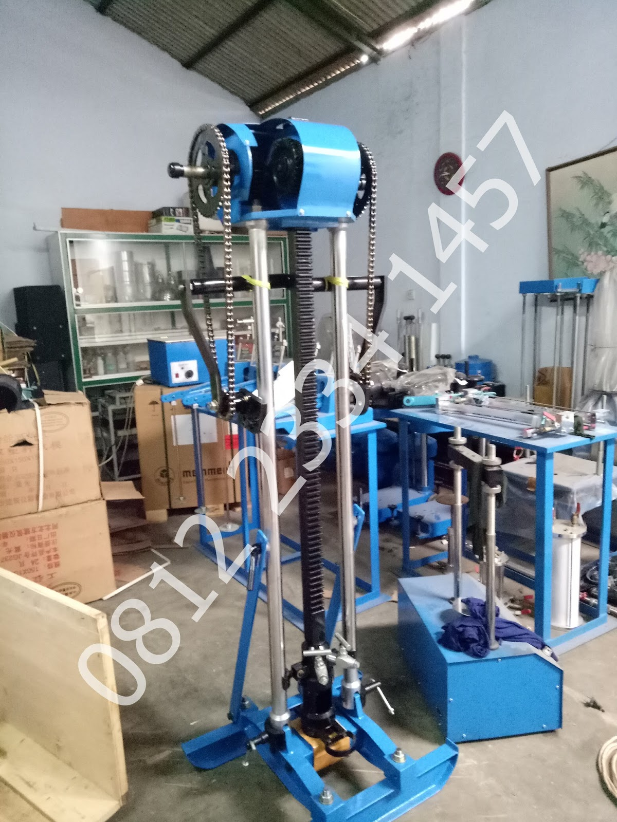 Jual Dutch Cone Penetrometer Sondir 5 Ton Cv Rundawa Teknik