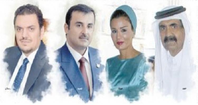 بالصور....فضيحة مدوية للأسرة الحاكمة فى قطر