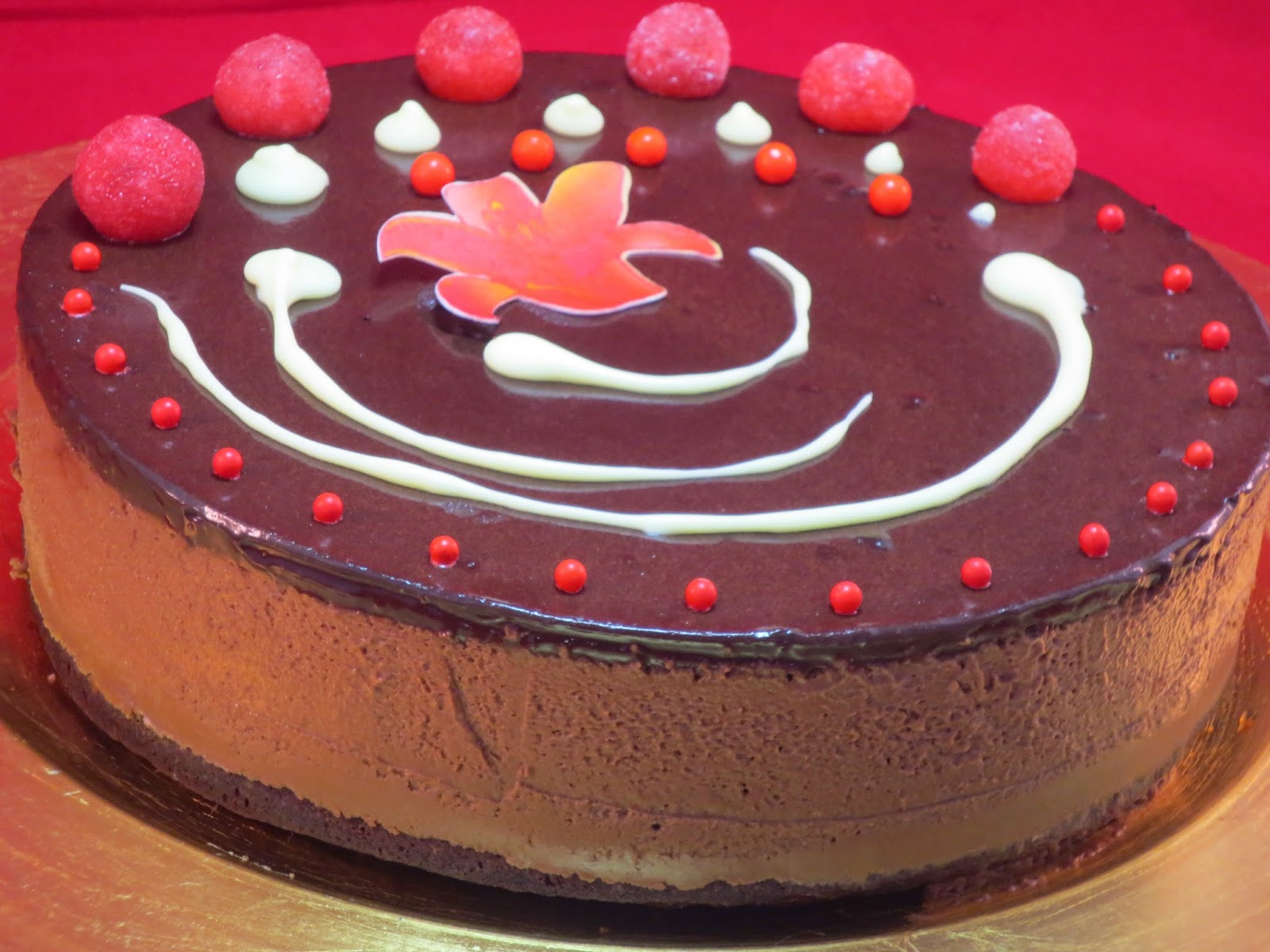 Tarta mousse de chocolate Thermomix