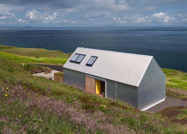 The Tinhouse Is A Holiday Home On The Scottish Island 3