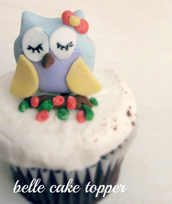 Decorating Ideas > DIY Owl Cupcake Fondant Toppers  Party Ideas  Party  ~ 082523_Fondant Cake Topper Ideas