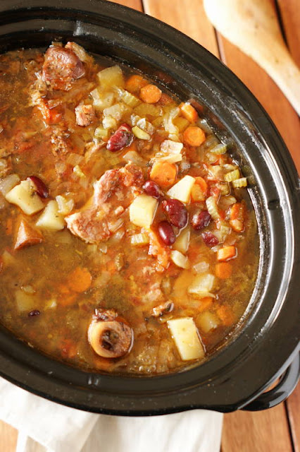 Slow-Cooker-Ham-Kidney-Bean-Soup-Image