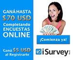 iSurveyWorld encuestas pagadas online